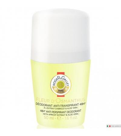 Roger&Gallet Fleur d'Osmanthus Deodorante anti-traspirante 48h roll-on 50ml