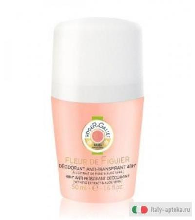 Roger&Gallet Fleur de Figuier Deodorante anti-traspirante 48h roll-on 50ml