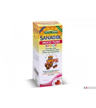 Sanagol Muco Tuss Junior gusto fragola 150 ml