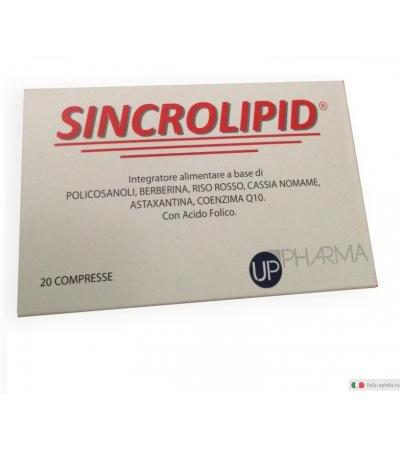 Sincrolipid colesterolo 20 compresse