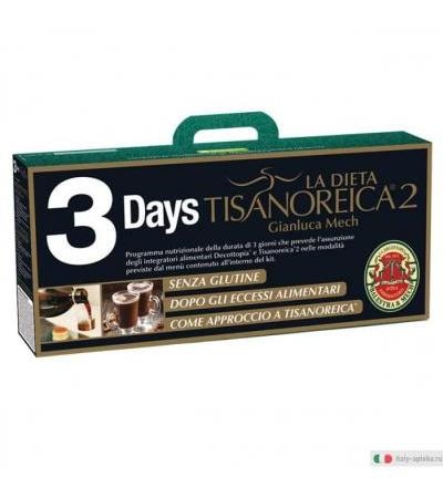 Tisanoreica 3 Days Start kit dimagrante 3 giorni