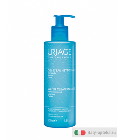 Uriage Gel Detergente all'Acqua 200ml