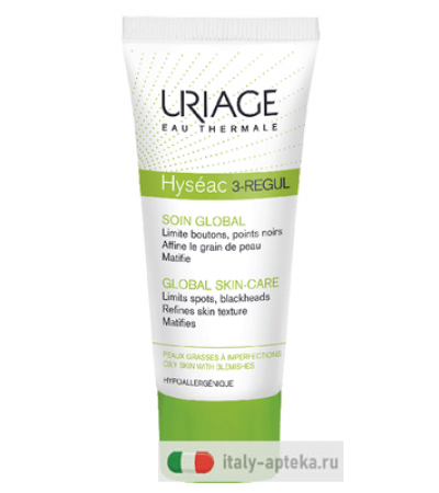 Uriage Hyséac 3-Regul trattamento globale anti-imperfezioni 40ml