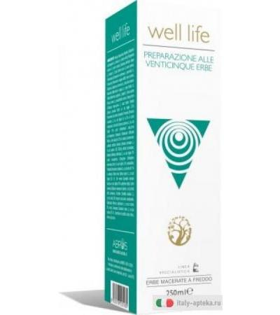 Well Life 25 erbe depurativo 250ml