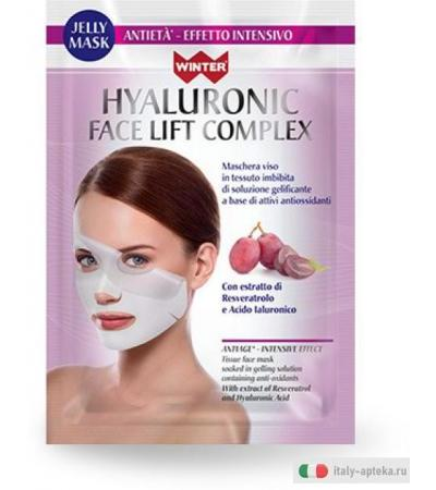 WINTER Hyaluronic Face Lift Complex Jelly Mask antietà effetto intensivo 35 ml