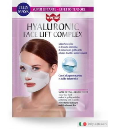 WINTER Hyaluronic Face Lift Complex Jelly Mask Effetto Liftante - Tensore 35 ml