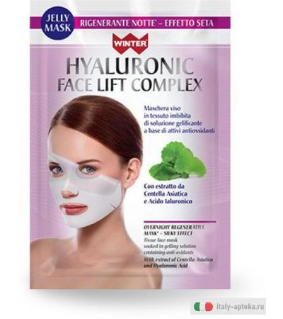 WINTER Hyaluronic Face Lift Complex Jelly Mask Rigenerante Notte - Effetto Seta 35 ml