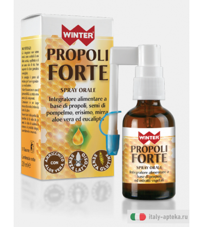 Winter Propoli Forte spray orale benessere per la gola 20ml