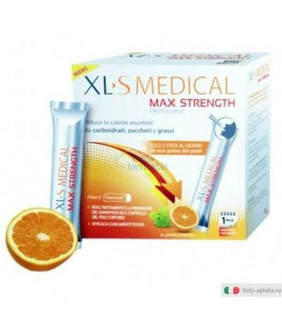 XLS Medical Max Strength 60 sticks orosolubili