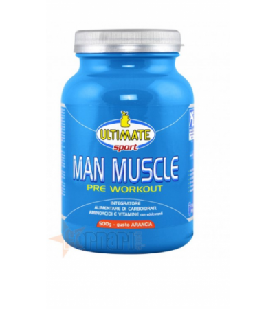 ULTIMATE ITALIA MAN MUSCLE PRE WORKOUT 500 GR Arancia
